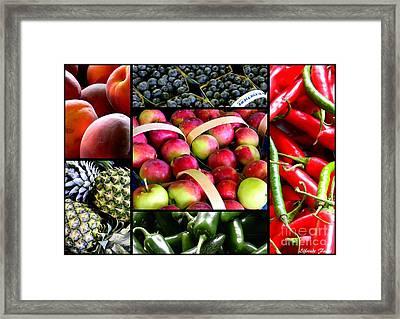 Produce Framed Print