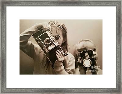 Professional Photographers Framed Print by Scott D Van Osdol