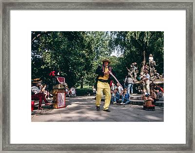 Professor Bendeasy Framed Print