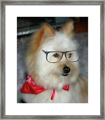 Professor Oliver Framed Print