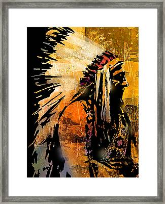 Profile Of Pride Framed Print