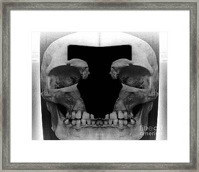 Profile Of The Damned Framed Print by Jack Norton