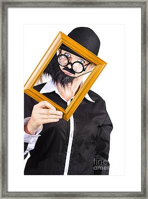 Profile Picture Framed Print by Jorgo Photography - Wall Art Gallery