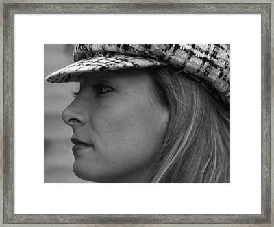 Profile Framed Print by Sonja Anderson