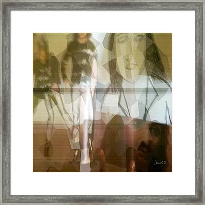 Profiling Greatness Framed Print by Fania Simon