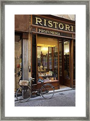 Profumeria Framed Print