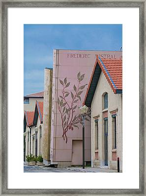 Framed Print featuring the photograph Programmatic Architecture by Matthew Bamberg