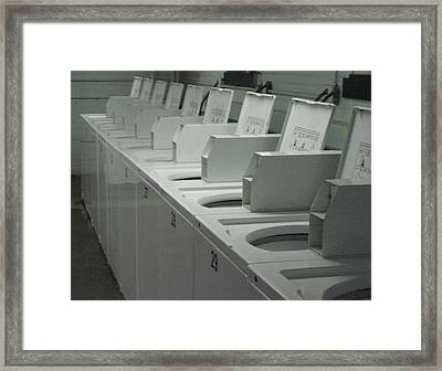 Programmed To Receive Framed Print by Stephen Hawks