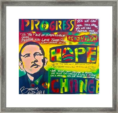 Progress Framed Print
