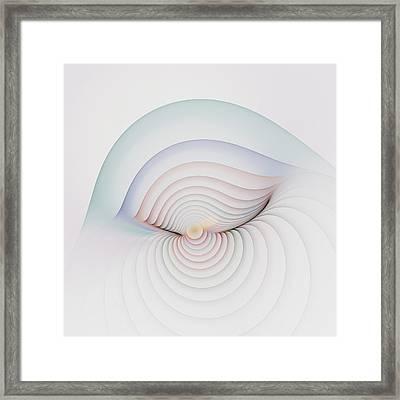 Progression 1 Framed Print by Richard Ortolano