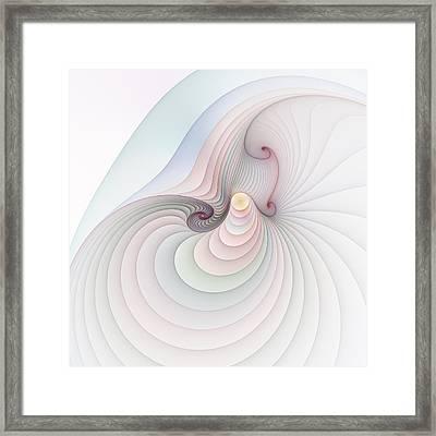 Progression 2 Framed Print by Richard Ortolano