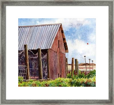 Framed Print featuring the painting Progression by Anne Gifford