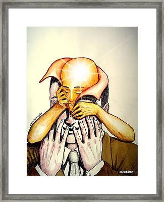 Progressive Construction Of Knowledge Framed Print by Paulo Zerbato