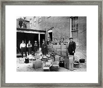 Prohibition, 1922 - To License For Professional Use Visit Granger.com Framed Print