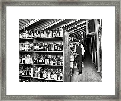 Prohibition Treasury Dept Lab 1920s Framed Print by Daniel Hagerman