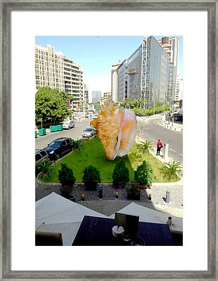 Project Lebanon Framed Print by Arlin Jules