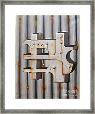 Project Object Series Framed Print