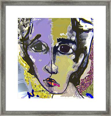 Projection Framed Print by Noredin Morgan