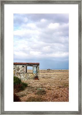 Projekt Desolate Block Framed Print by Stuart Ellesmere