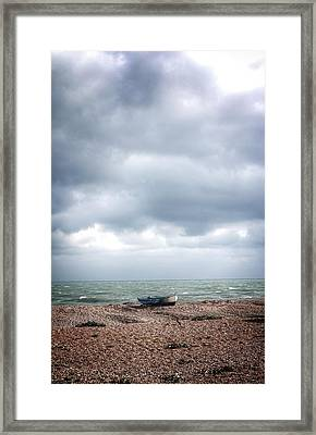 Projekt Desolate Paddle Framed Print by Stuart Ellesmere