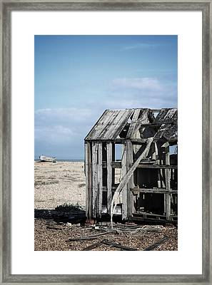 Projekt Desolate The Drive  Framed Print by Stuart Ellesmere