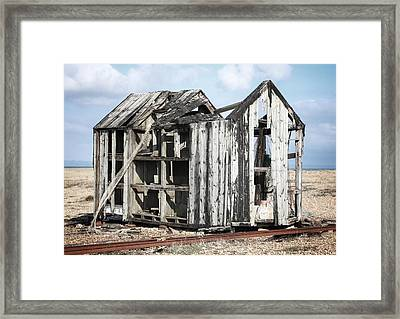 Projekt Desolate The Grand Framed Print by Stuart Ellesmere