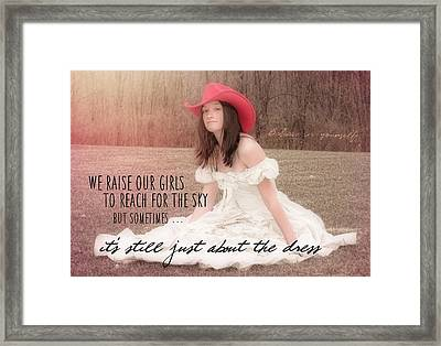 Prom Night Quote Framed Print by JAMART Photography