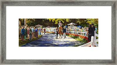 Promenade Framed Print by Carolyn Epperly