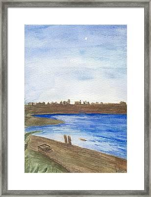 Promenade Framed Print by Dawn Marie Black