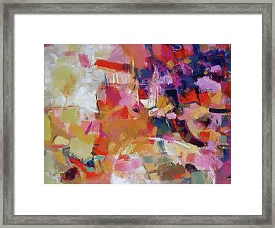 Promenade Framed Print by Elizabeth Chapman