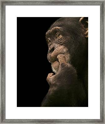 Promiscuous Girl Framed Print by Paul Neville