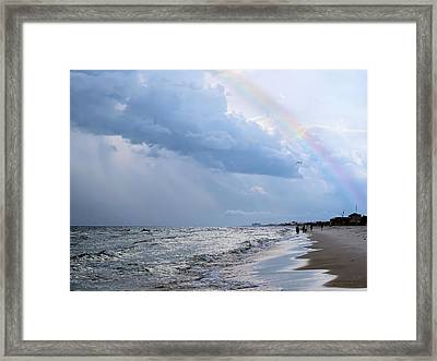 Promise Of A New Day Framed Print by Theresa Campbell