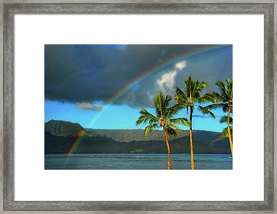Framed Print featuring the photograph Promise Of Hope by Lynn Bauer