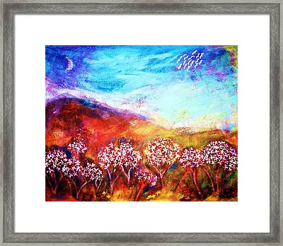 Framed Print featuring the painting Promise by Winsome Gunning