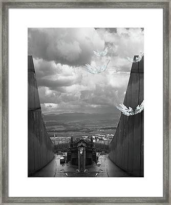 Framed Print featuring the photograph Promised Land by Karni Dorell