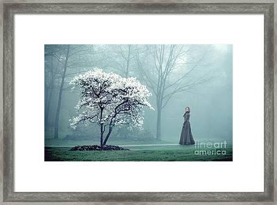 Promises Framed Print by Evelina Kremsdorf