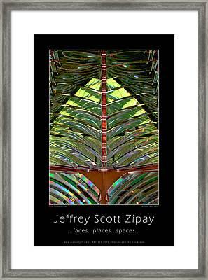 Promo Poster Framed Print by Jeffrey Zipay
