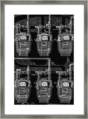 Propane Framed Print by Andrew Wohl