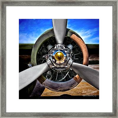 Propeller Art   Framed Print
