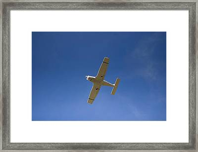 Propeller Fixed Wing Aircraft Framed Print by Thomas Woolworth