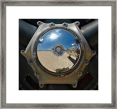 Propeller Hub Framed Print by Murray Bloom
