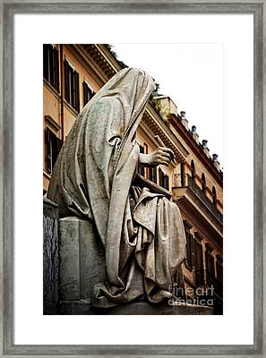 Prophet Isaiah By Revelli Framed Print by HD Connelly