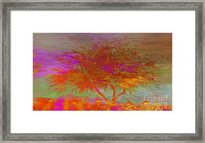 Prophetic Shout Framed Print by Beverly Guilliams