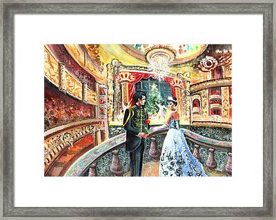 Proposal At The Nutcracker Framed Print