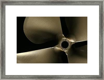 Propulsion Framed Print by David Andersen