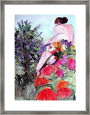 Proserpina Rising Framed Print
