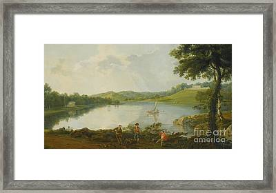 Prospect Of Gatton Park Framed Print by MotionAge Designs