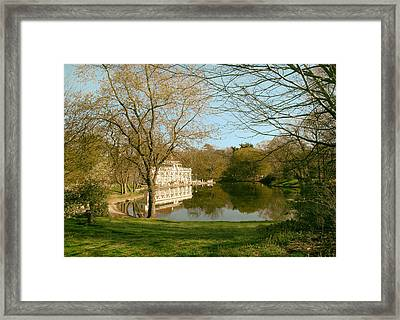 Prospect Park Boathouse Framed Print by Jessica Jenney