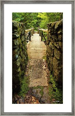 Prospective Memorial Bridge Framed Print