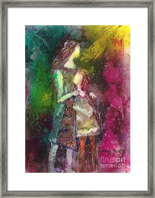 Protected Framed Print by Deborah Nell